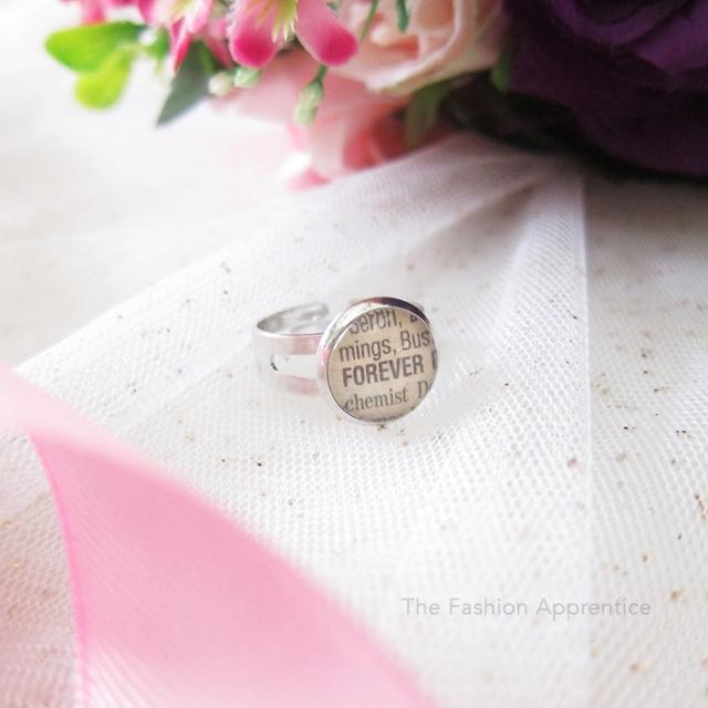 Pradnya Cinantya Anya Verona DIY Cabochon Necklace Ring Valentine Gifts 1