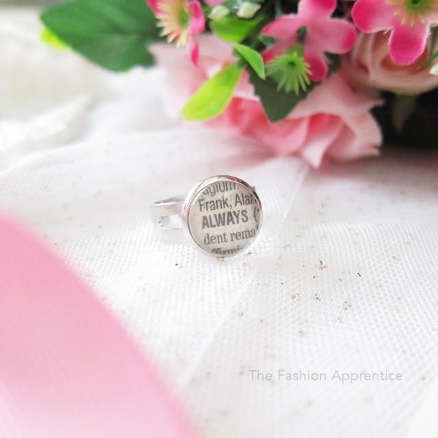 Pradnya Cinantya Anya Verona DIY Cabochon Necklace Ring Valentine Gifts 3