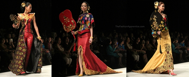 pradnya cinantya anya the fashion apprentice indonesia fashion week 2016 tjok abi 2