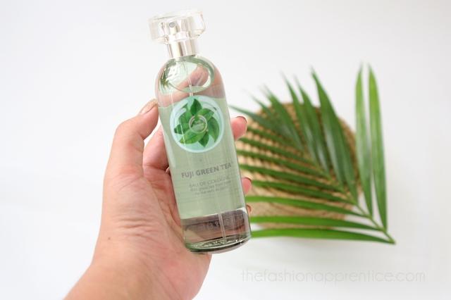 pradnya cinantya anya the fashion apprentice the body shop fuji green tea cologne review 1