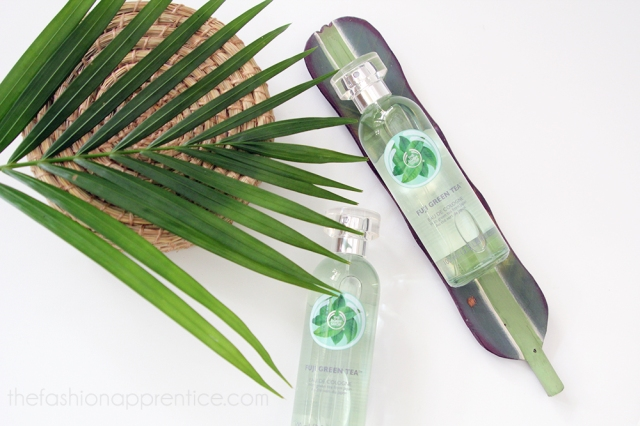 pradnya cinantya anya the fashion apprentice the body shop fuji green tea cologne review 2