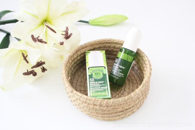 pradnya cinantya anya the fashion apprentice the body shop nutriganics drops of youth beauty review 1