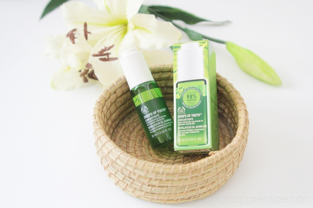 pradnya cinantya anya the fashion apprentice the body shop nutriganics drops of youth beauty review 4